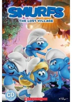 lThe Smurfs: The Lost Village Reader Level 3 + CD