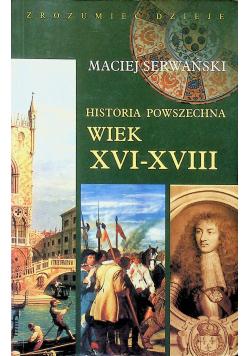 Historia powszechna Wiek XVI  XVII