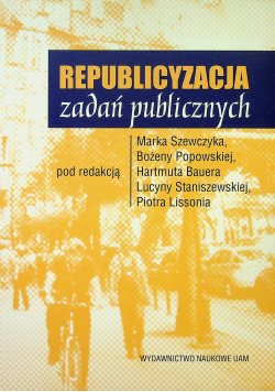 Republicyzacja zadań publicznych