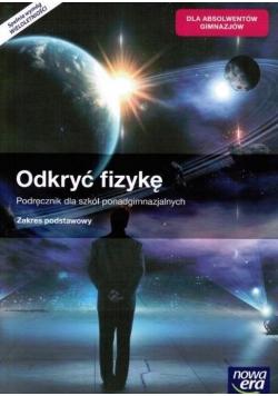 Odkryć fizykę Podręcznik zakres podstawowy