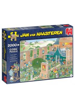 Puzzle 2000 Haasteren Wystawa dzieł sztuki G3