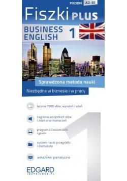 Angielski Fiszki PLUS Business English 1 Poziom A2 B1
