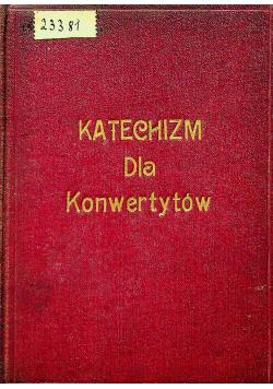 Katechizm dla Konwertytów 1928 r.