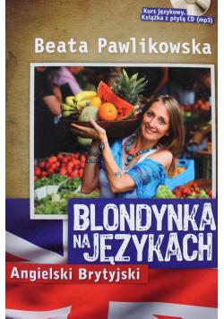 Blondynka na językach  Angielski Brytyjski + płyta CD