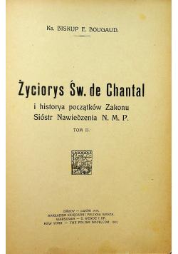 Życiorys Św de Chantal Tom II 1914 r.