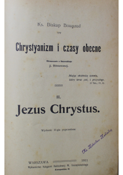 Chrystyanizm i czasy obecne 1911 r.
