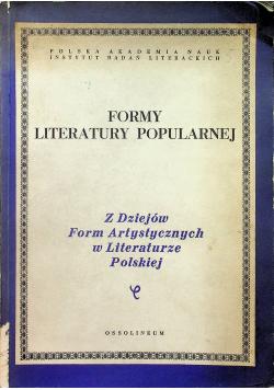 Formy literatury popularnej