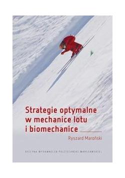 Strategie optymalne w mechanice lotu i biomech.