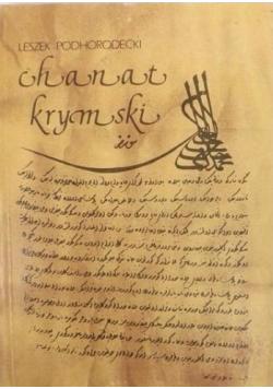 Chanat krymski i jego stosunki z Polską w XV  XVIII w