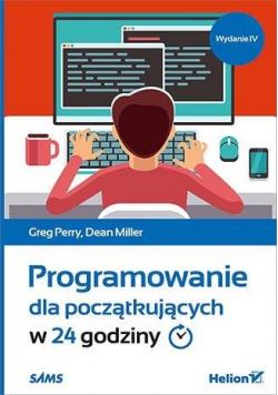 Programowanie dla początkujących w 24 godziny w.4