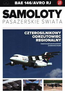 Samoloty pasażerskie świata T.27 BAE 146/Avro RJ