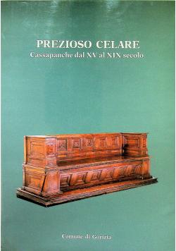 Prezioso celare Cassapanche dal XV al XIX secolo