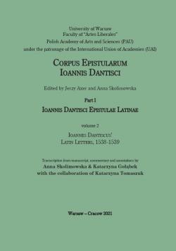 Ioannes Dantiscus' Latin Letters, 1538-1539
