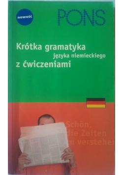 Krótka gramatyka języka niemieckiego z ćwiczeniami