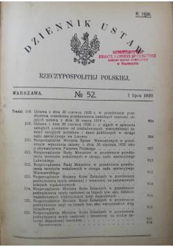 Dziennik ustaw Rzeczpospolitej Polskiej