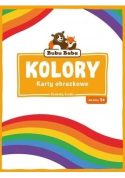 Bubu Baba Karty obrazkowe. Kolory i kształty