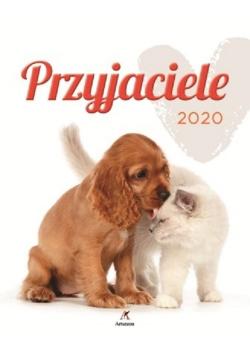 Kalendarz 2020 ścienny Wieloplanszowy Przyjaciele