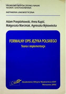Formalny opis języka polskiego