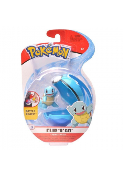 Pokemon Clip'N'Go Pokeball Squirtle