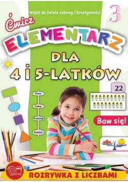 Ćwicz elementarz dla 4 i 5-latków