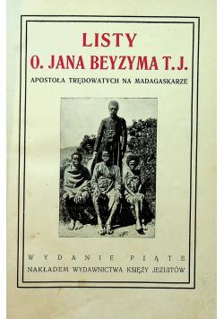 Listy o Jana Beyzyma apostoła trędowatych na Madagaskarze 1927 r