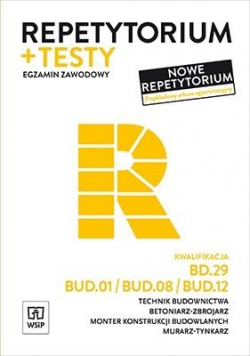 Repetytorium i testy.Technik bud.BD.29/BUD.01...