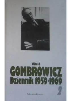 Dziennik 1959 - 1969 Tom 2