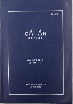Callan Method Studentss Book 1