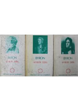 Wybór dzieł Byron III Tomy