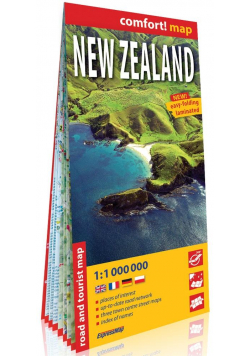 Comfort! map Nowa Zelandia 1: 1 000 000