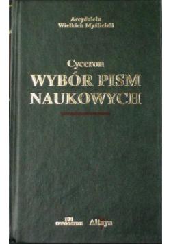 Cyceron Wybór pism naukowych