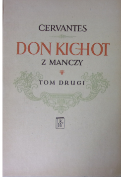 Don Kichot z Manczy tom 2