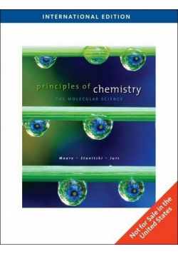 Principles of chemistry the molecular science