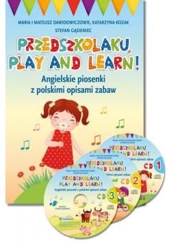 Przedszkolaku, play and learn! + 3 CD w.2020