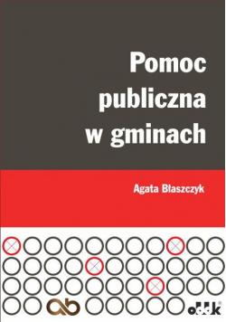 Pomoc publiczna w gminach
