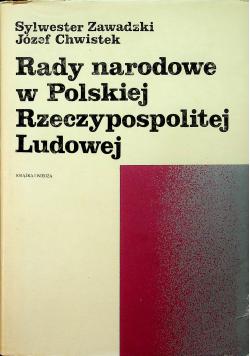 Rady narodowe w Polskiej Rzeczypospolitej Ludowej