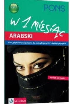 W 1 miesiąc  Arabski + płyta CD