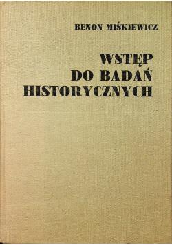 Wstęp do badań historycznych