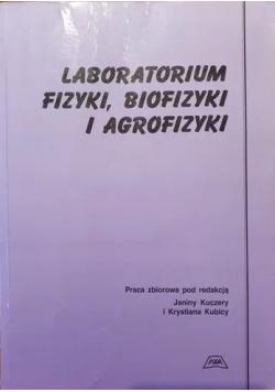 Laboratorium fizyki biofizyki i agrofizyki
