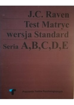 Test matryc wersja standard Seria A B C D E
