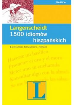 1500 idiomów hiszpańskich