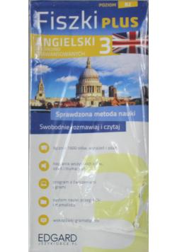 Fiszki plus Angielski 3 dla średnio zaawansowanych