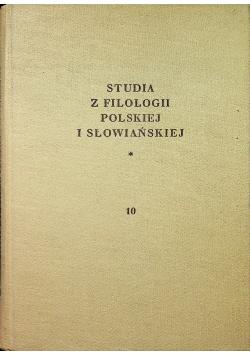 Studia z filologii polskiej i słowiańskiej