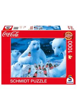 Puzzle PQ 1000 Coca-Cola Niedźwiedzie polarne G3