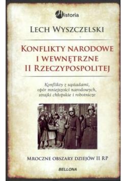 Konflikty narodowe i wewnętrzne II Rzeczypospolitej