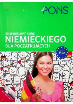 Ekspresowy kurs niemieckiego dla początkujących + 4 płyty CD