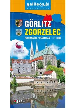 Plan - Zgorzelec/Gorlitz 1:11 000