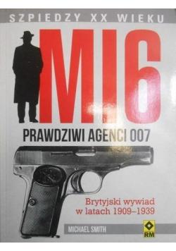 MI6 Prawdziwi agenci 007 Brytyjski wywiad w latach 1909  1939