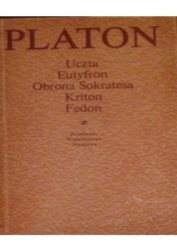 Platon  Uczta  Eutyfron  Obrona Sokratesa  Kriton  Fedon