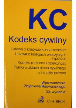 KC Kodeks cywilny
